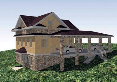 Проект - дом на склоне