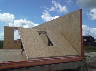 Проекты бань и гаражей из сип панелей в Тюмени